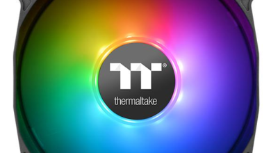 Photo of Thermaltake adds a new RGB fan to its product showcase