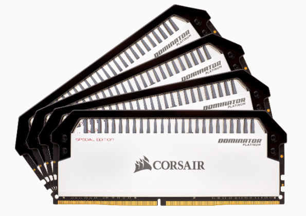 Corsair Dominator Platinum Special Edition Contrast DDR4 memories
