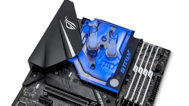Photo of EK is providing a monoblock for Asus Strix X470-F motherboard