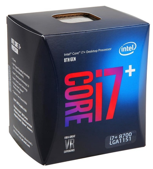 Intel Core I Plus i7+ 8700 Coffee Lake