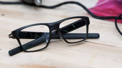 Intel smart glasses
