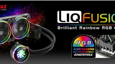 Photo of ENERMAX Launches LIQFUSION, the Rainbow RGB AIO Liquid Cooler