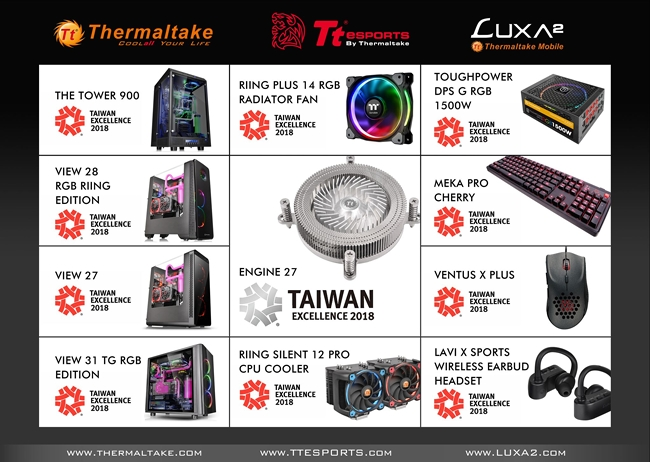Thermaltake awards