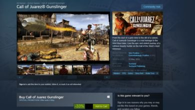 Photo of Call of Juarez- Gunslinger is back on Steam Listing: Techland aquires the game