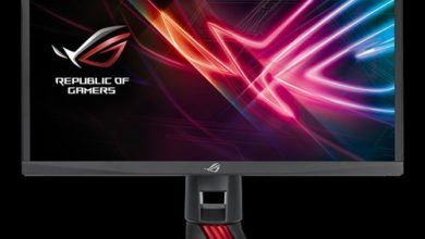 Photo of Here is another faced paced gaming monitor from Asus: The ROG Strix XG248Q