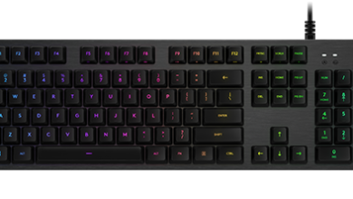 Logitech G512 gaming keyboard