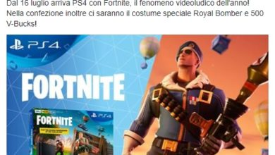 Photo of Fortnite PlayStation 4 Bundle coming next month with a exclusive skin