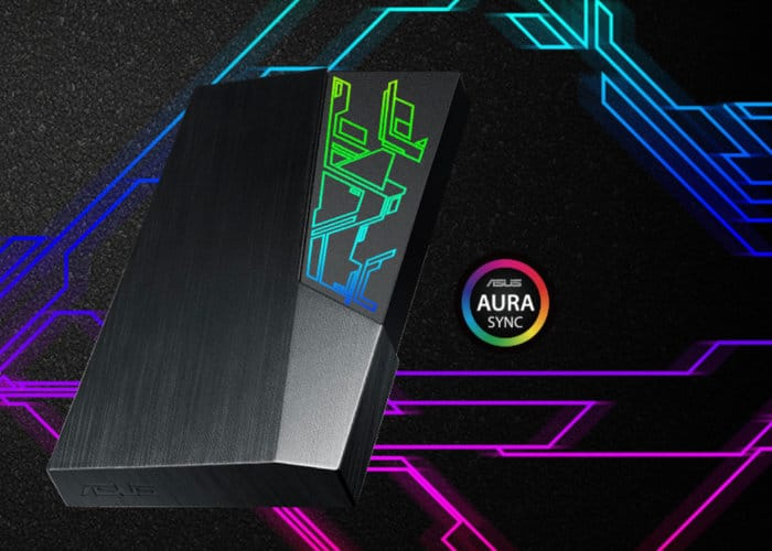 Asus brings to the Play-Board a New FX External HD, Integrated with