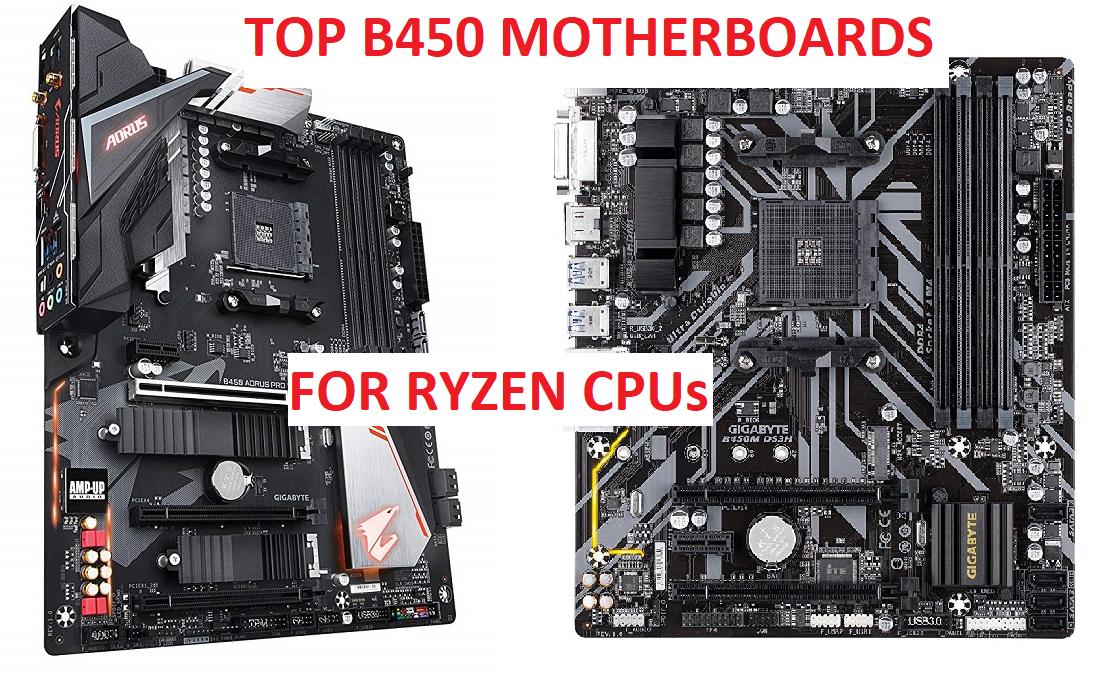 Best B450 Motherboards For Ryzen [Only The BEST
