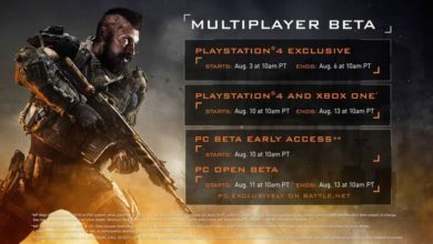 Photo of Second beta weekend Call of Duty: Black Ops 4 Early Access beginning 10am pacific time on August 10*
