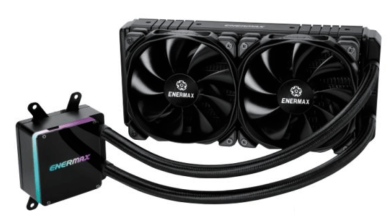 Photo of Enermax's new AIO liquid cooler TRII 240 coming out soon