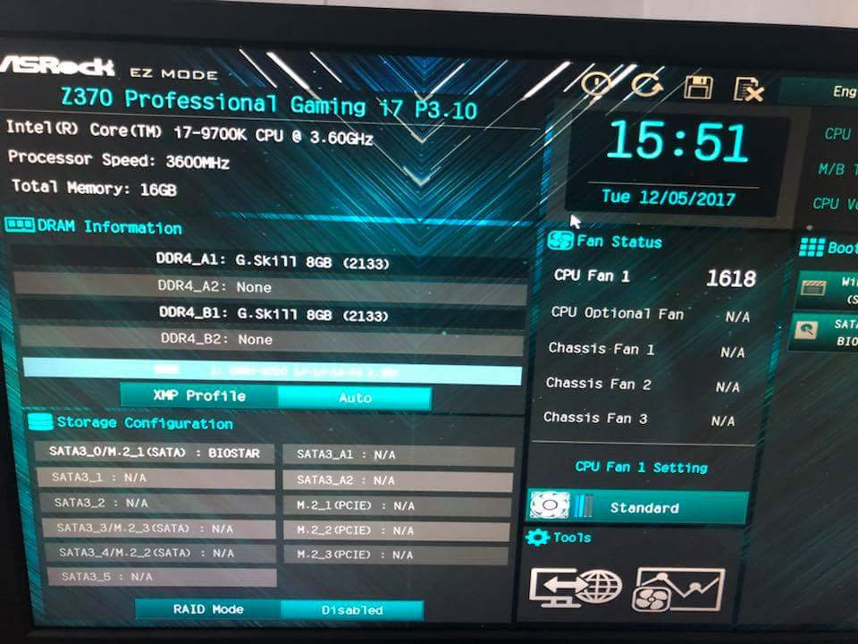 Intel Core i7 9700K benchmark 1