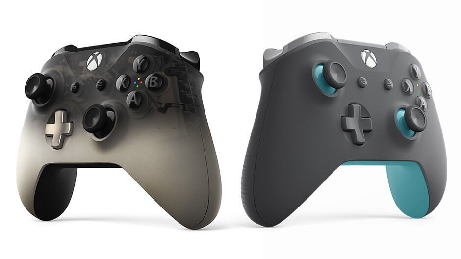 Microsoft's new Xbox One controllers