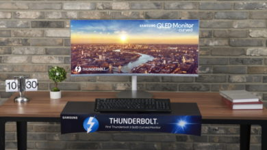 Photo of Samsung Electronics unveils its new Thunderbolt 3 Curved Monitor at IFA 2018