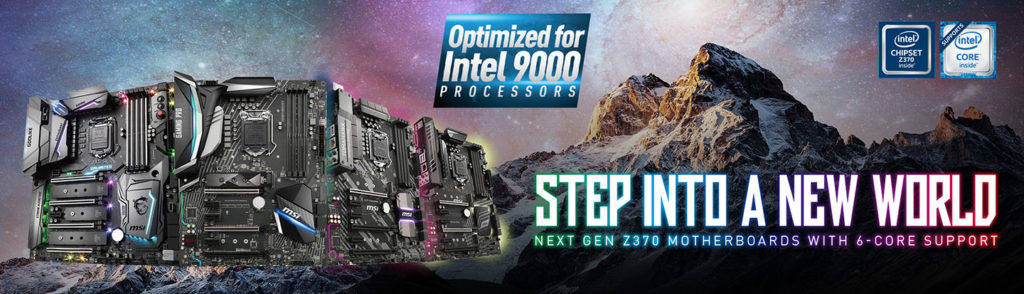 Support For Z370 Motherboards by MSI