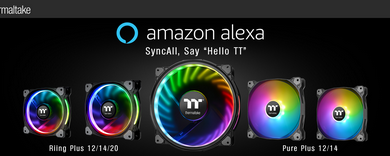 Photo of Riing Plus and Pure Plus RGB Fans now supports Alexa