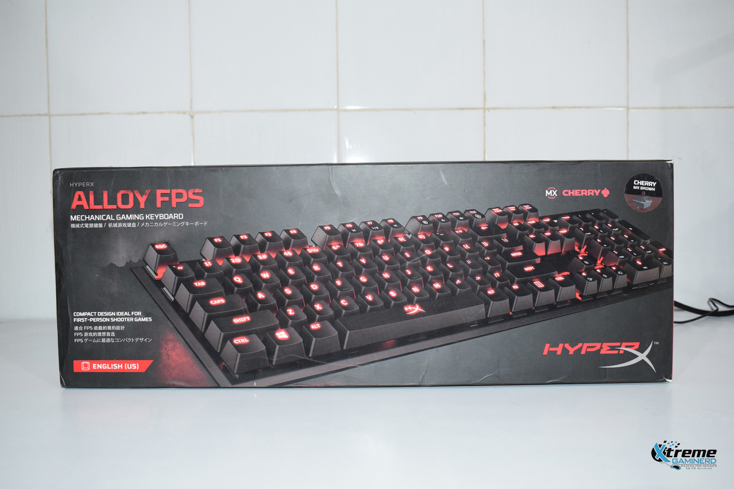 HyperX Alloy FPS mechanical keyboard 1