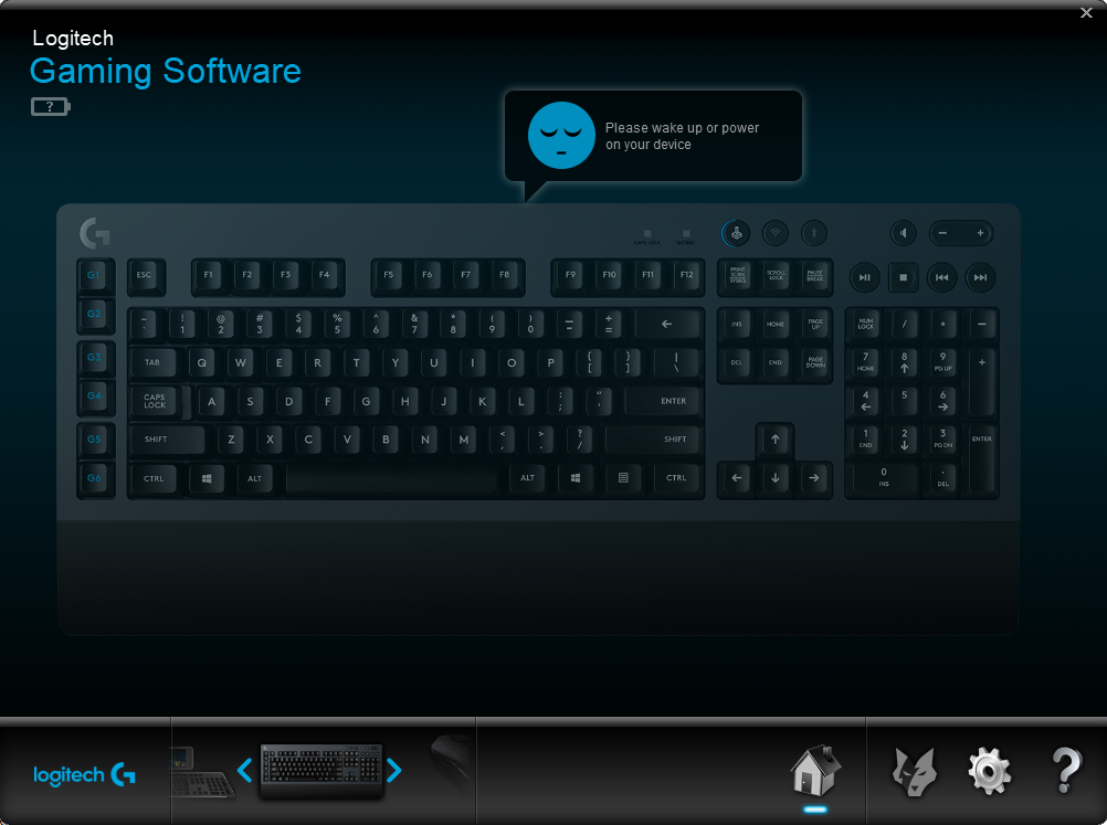 Keyboard Interface_G613