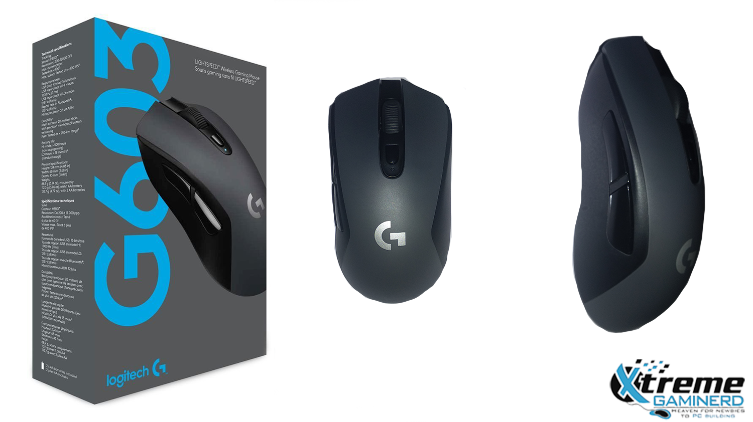 Logitech G613 Keyboard & G603 Mouse review: The perfect