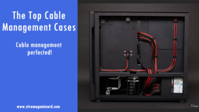 cable management PC cases