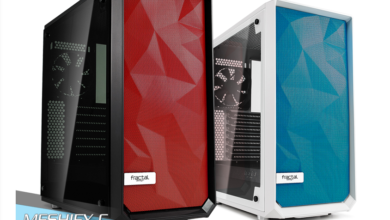 Photo of Fractal Design launches coloured front panels for Meshify C