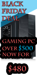 Black Friday $500 Gaming PC