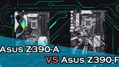 Photo of Asus Prime Z390-A vs Z390-P