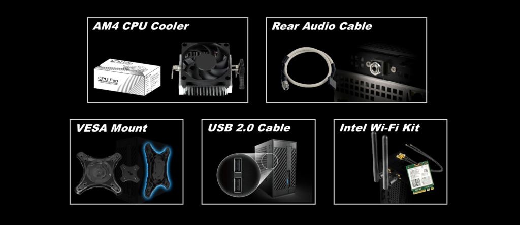 Deskmini A300 Accessories