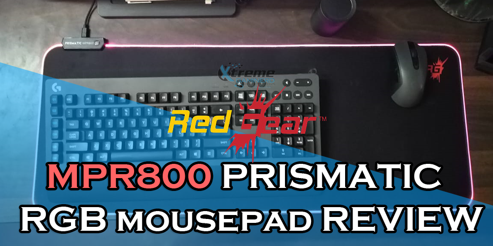 Redgear MPR800 mouse pad review