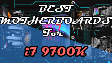 Best motherboards for i7 9700K