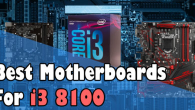 Best motherboards for i3 8100
