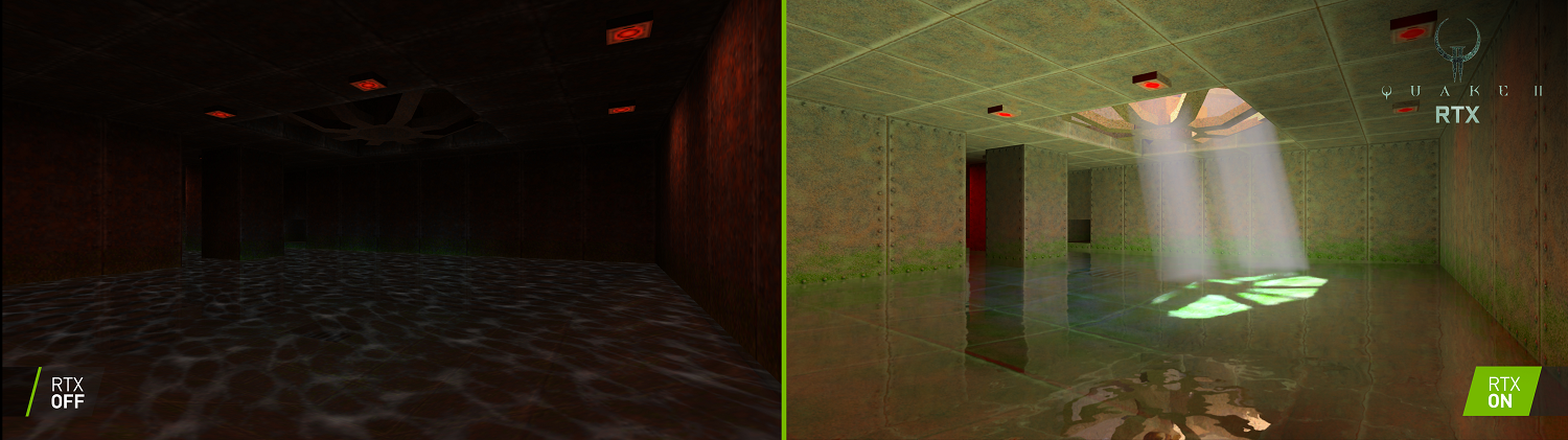 Quake-II-RTX-On-Off-Side-By-Side