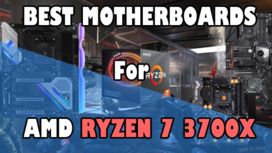 Best Motherboards for AMD Ryzen 7 3700X