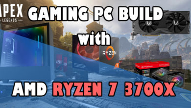 Gaming PC Build with Ryzem 7 3700X