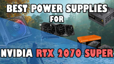 Best Power Supplies for RTX 2070 Super