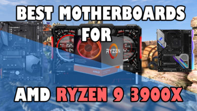 Best motherboards for Ryzen 3900X