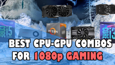 Best CPU-GPU combos for 1080p Gaming