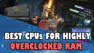 Best CPUs for highly overclocked RAM
