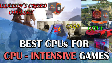 Photo of Best CPUs for CPU intensive games [GTA V, CSGO, Assassin's Creed Odyssey and More]