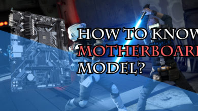 How to know motherboard model