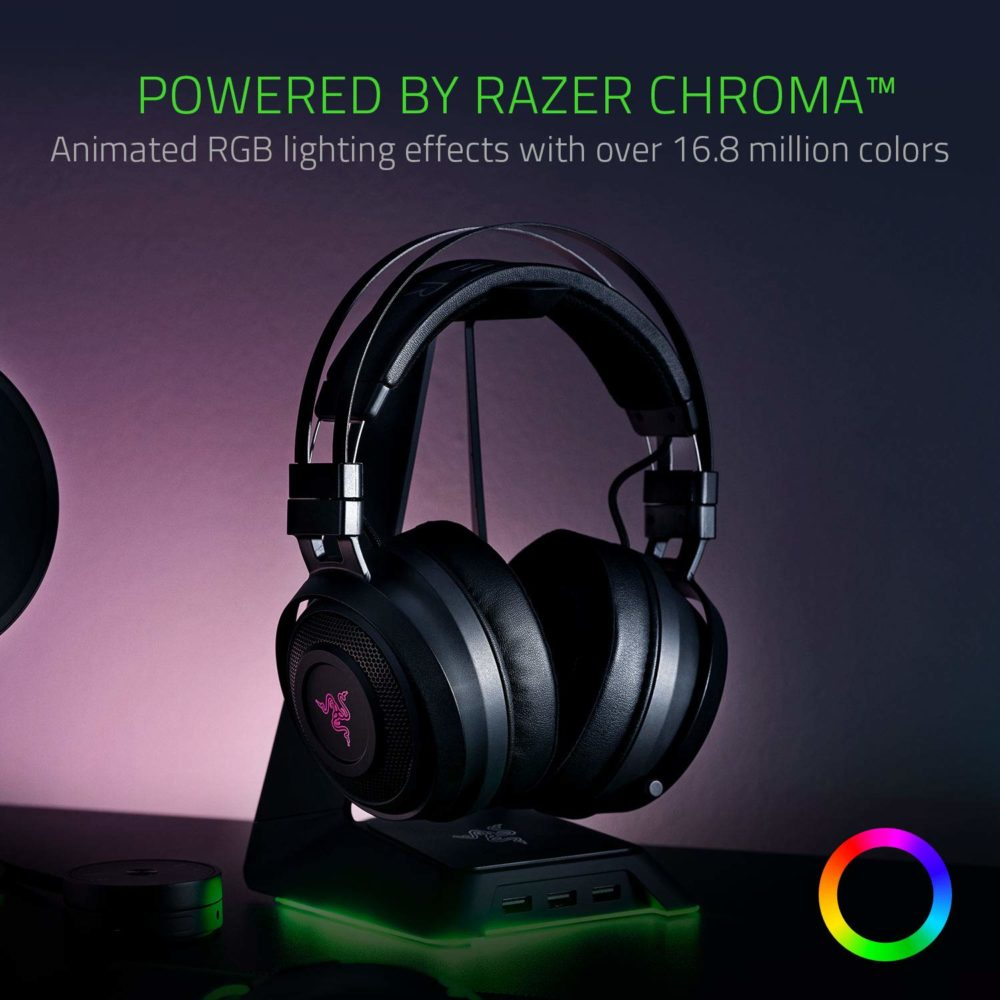 Razer Nari Wireless 7.1 Chroma RGB Headset