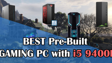 Photo of Best Pre-Built Gaming PCs with i5 9400F