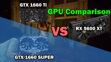 Photo of RX 5600 XT vs GTX 1660 Super vs GTX 1660 Ti