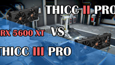 Photo of XFX RX 5600 XT Thicc II PRO VS Thicc III PRO