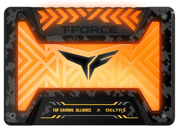 SSD RVB DELTA S TUF Gaming Alliance