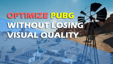 Optimize PUBG