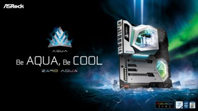 Photo of ASRock launches Z490 Aqua motherboard