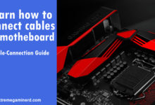 Photo of Motherboard cable-connection guide