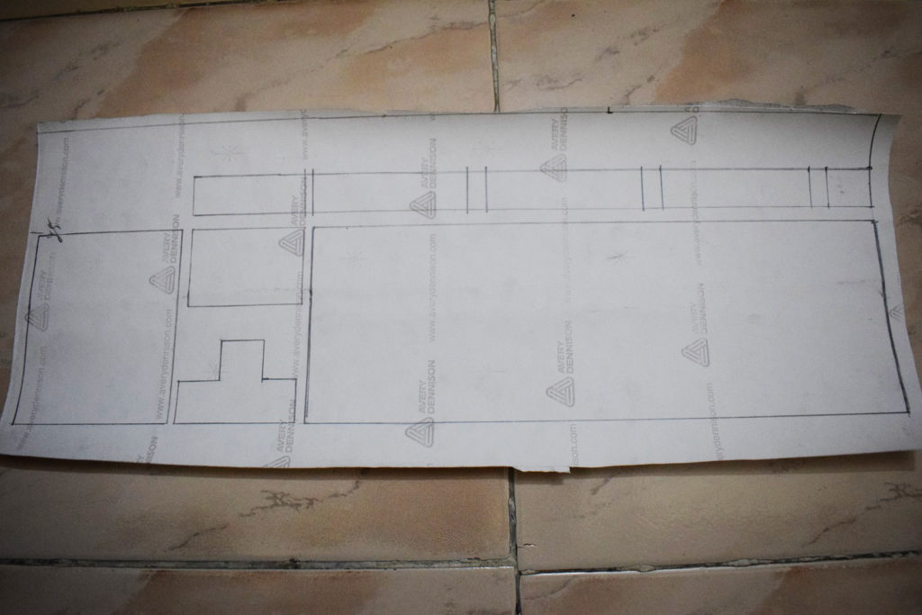 Draw the layout