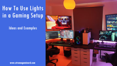 Photo of Gaming setup with led lights- Ideas and Examples
